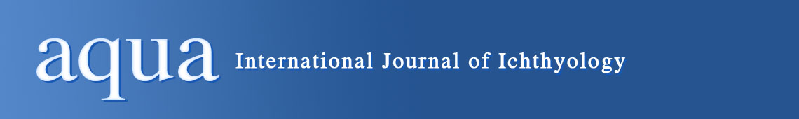 aqua, International Journal of Ichthyology